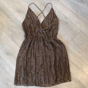 Rory Beca snakeskin dress
